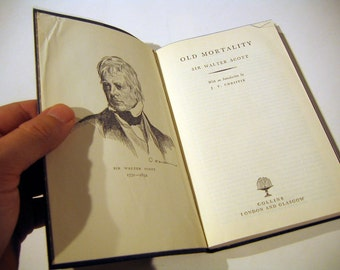 Old Morality - By Sir Walter Scott, Vintage Book