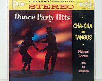 "MANUEL GARCIA: Cha Cha/Tango Party Hits - Rare Latin Dance Classic – Vintage Vinyl LP Record 12"" (1960)"