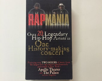 RAPMANIA - The Roots of Rap (2 VHS Set) Live from the Apollo Theater + The Palace