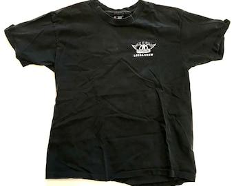 AEROSMITH: Get a Grip Local Crew Concert Tour Shirt 1994 XL