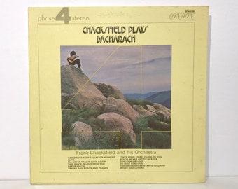 "Frank Chacksfield + Orchestra ""Plays Bacharach""  – Vintage Vinyl LP Record 12"" (1971)"