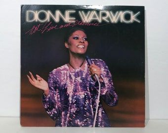 """Dionne Warwick: Hot ! Live And Otherwise – Vintage Vinyl LP Record 12"""" (1981)"""