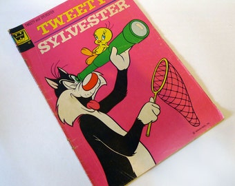 Tweety and Sylvester #25 VG (1972) Whitman Comic Book