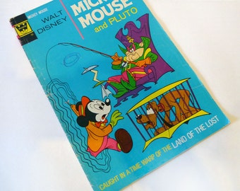Walt Disney MICKEY MOUSE (and Pluto) #143 Comic Book (1973) Gold Key