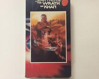 Star Trek II - The Wrath of Khan [VHS] William Shatner, Leonard Nimoy