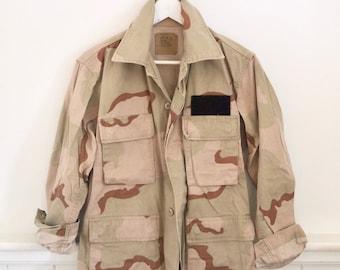Vintage veste DESERT STORM armée