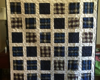 Loss Quilt made from Loved Ones clothing - DEPOSIT ONLY