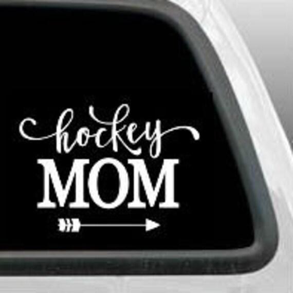 Hockey Mom Vinyl Decal Sticker Car Window