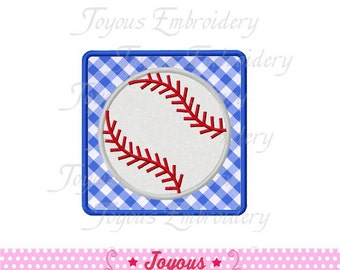 Instant Download  Baseball Applique Embroidery Design NO:1542