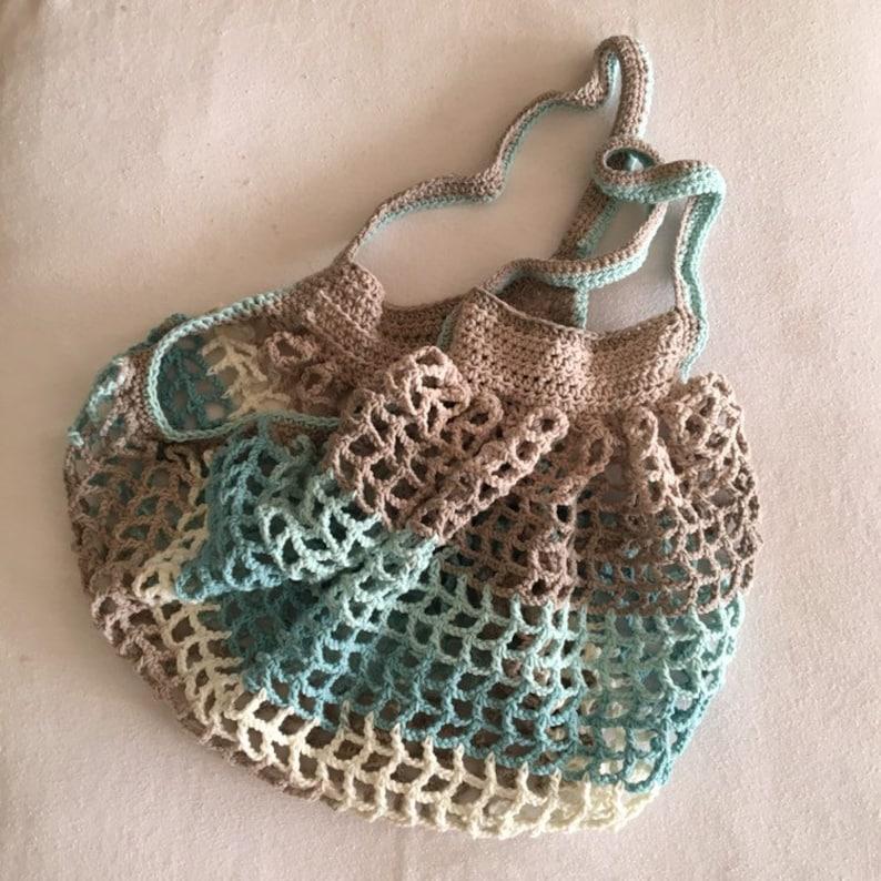 French market bag cotton market bag sustainable market bag reuseable market bag mesh beach bag reusuable grocery bag mesh cotton bag