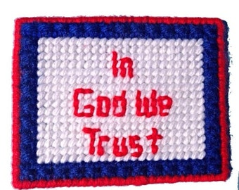 In God We Trust Refrigerator Magnet, Patriotic Magnet