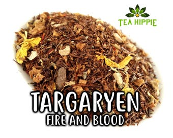 50g Targaryen (Fire and Blood) - Loose Black Tea (Game of Thrones Inspired)