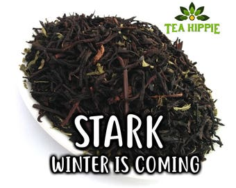 50g Stark (Winter Is Coming) - Loose Black Tea (Game of Thrones Inspired)