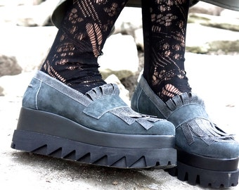 """Collection Sneakers All Genuine Leather  / Casual  Extravagant """"Must Have"""" All seasons sneakers by Aakasha A15603"""