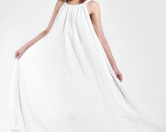 NEW COLLECTION Maxi Dress with Adjustable Strap A03735