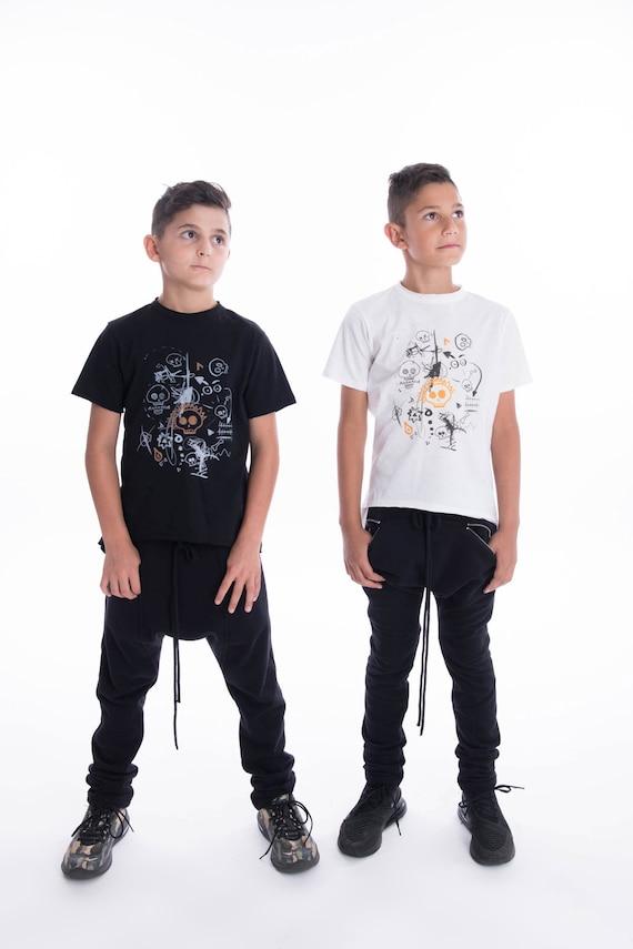 A90386C impression impression A90386C T-shirt têtes de mort mignon a3483a