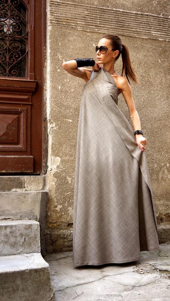 a67212ffa11c Neue Maxi-Kleid  Melange Beige Kaftan gesponnen Rayon Kleid     Etsy