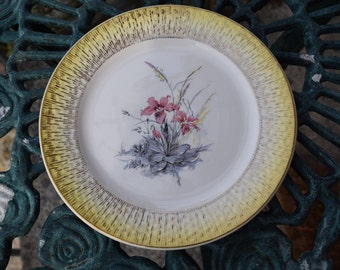 French vintage porcelain small plate by DIGOIN & SARREGUEMINES