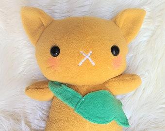 Cat Plush, Cat Plushie, Cat Stuffed Animal, Kitty
