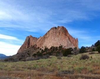 Garden of the Gods Rock Formation/ Colorado Rockies. Fine Art Photography.