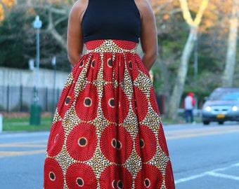 Cinnamon Spice- Maxi Skirt - Ready to Ship