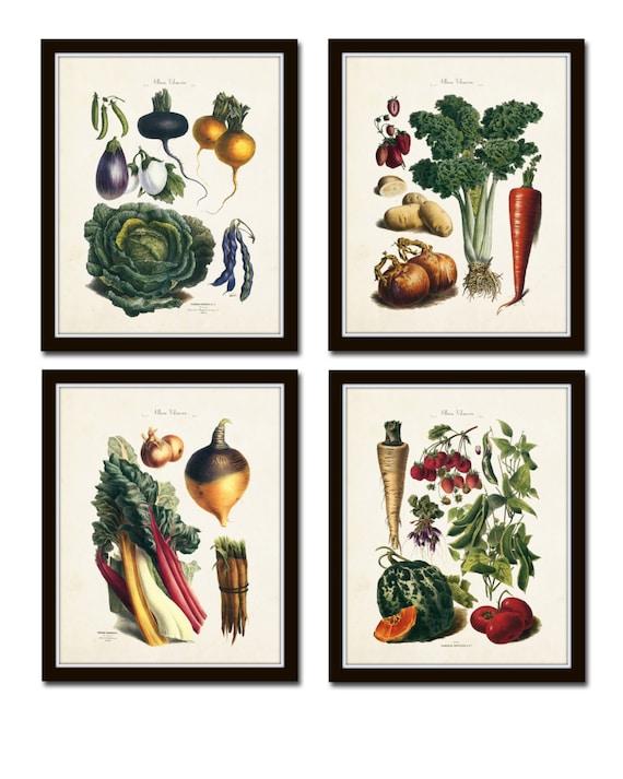 French Vegetable Print Set Giclee Art Illustration   Etsy on meat printing, 4d printing, 3d printers printing, 3d home printing, pumpkin printing, full color printing, tampon printing,