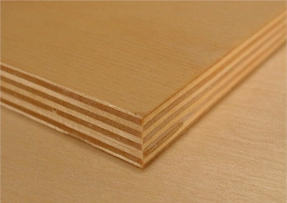 LASERWOOD Baltic Birch Plywood 1//8 x 12 x 24 pkg 5 by Woodnshop