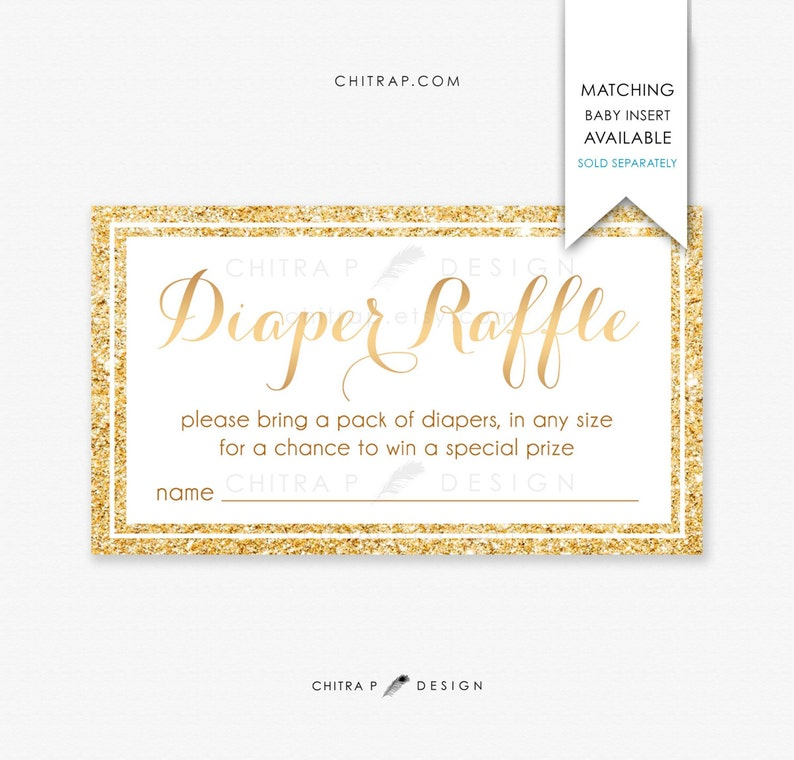 Twin Girls Baby Shower Invitations Printed #018 Blush Pink Gold Confetti Sprinkle Brunch Glitter Floral Oh Babies Couples Striped