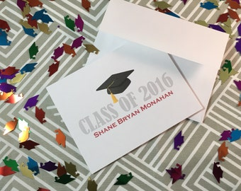 Personalized Graduation Thank You Cards - Made to Order