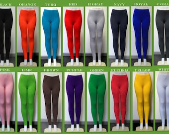 b718d65f32c6d0 Free Shipping Plus Size Versatile and Comfortable Cotton Spandex tights/ leggings, Yoga,Gym,Dance Or a Party. XL,2XL,3XL