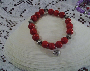 Red Valentine Bracelet - Free Shipping