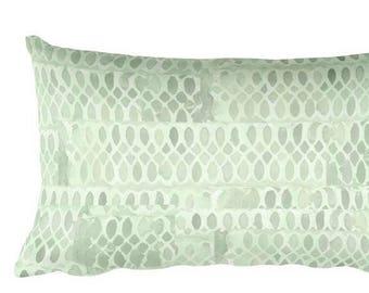 Mint Throw Pillow, 12x20, Mint Nursery Pillow, Mint Pillow, Mint Bedroom Pillow, Mint Bed, Mint Lumbar Pillow, Pale Green Nursery Pillow
