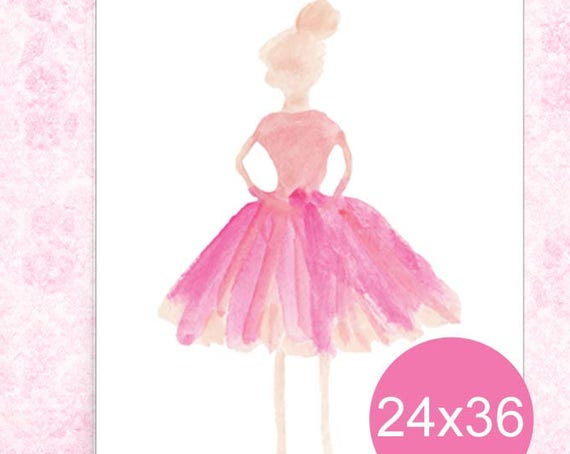 Ballerina Poster, 24x36