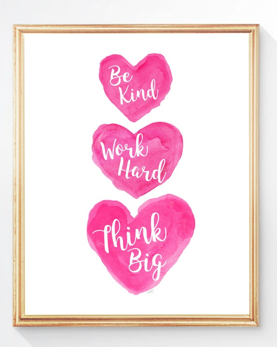 Girl Power Print, 8x10 Inspirational Print