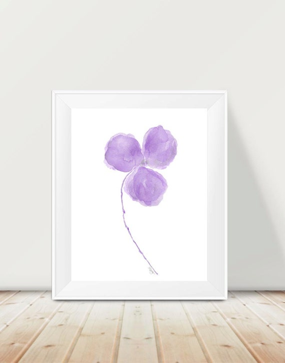 Lavender Orchid Print, 11x14