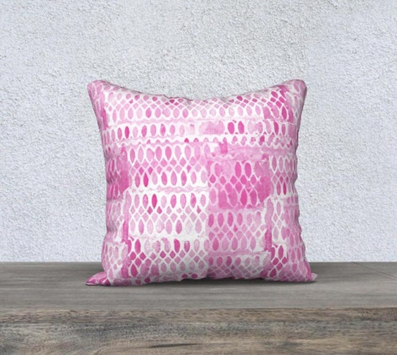 Hot Pink Decorative Pillow
