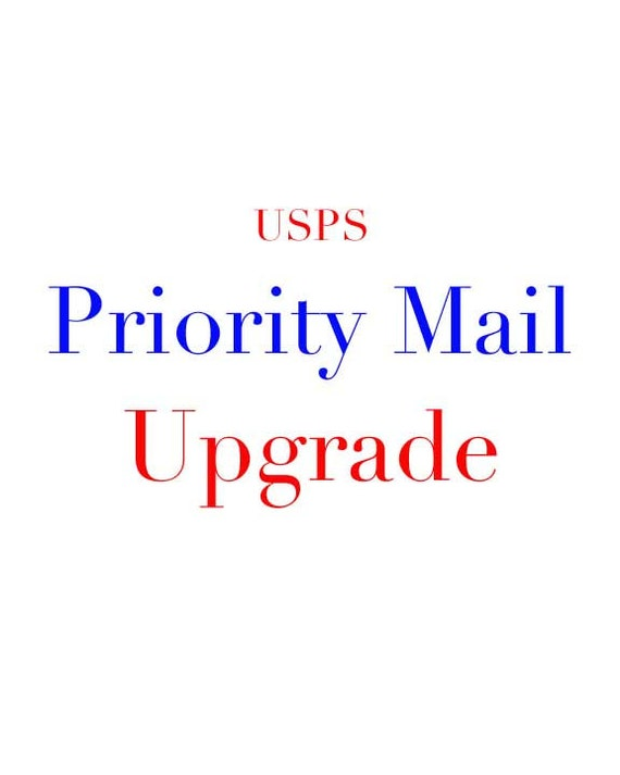 USPS Priority Mail Upgrade for 5x7, 8x10