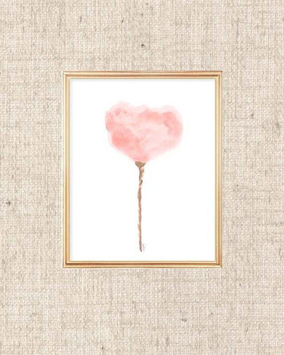 Blush Tulip Print, 8x10