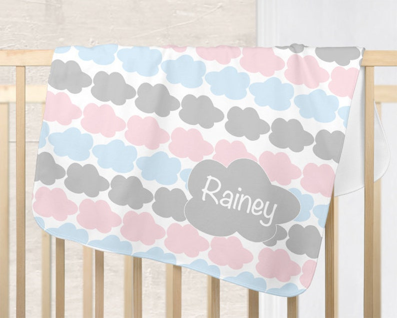 a48b9f62d Cloud Nursery Blanket Cloud Baby Blanket Boy Girl Baby | Etsy