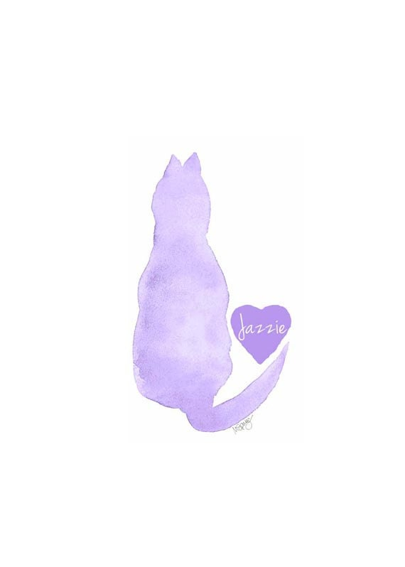 Cat Memorial Gift