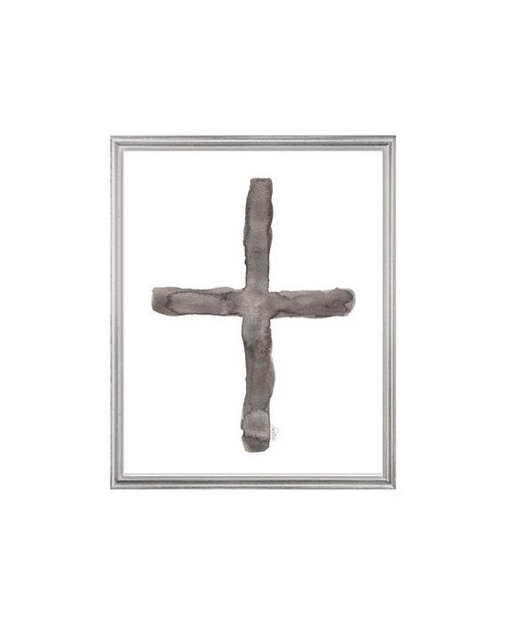 Southwest Art, Cross Print in 8x10