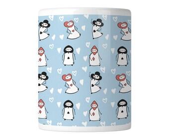 Playing Cards Mug | , mug, wonderland mug, coffee mug, alice mug, tea party, cheshire cat, mad hatter mug, drink me, gift for her, tea mug