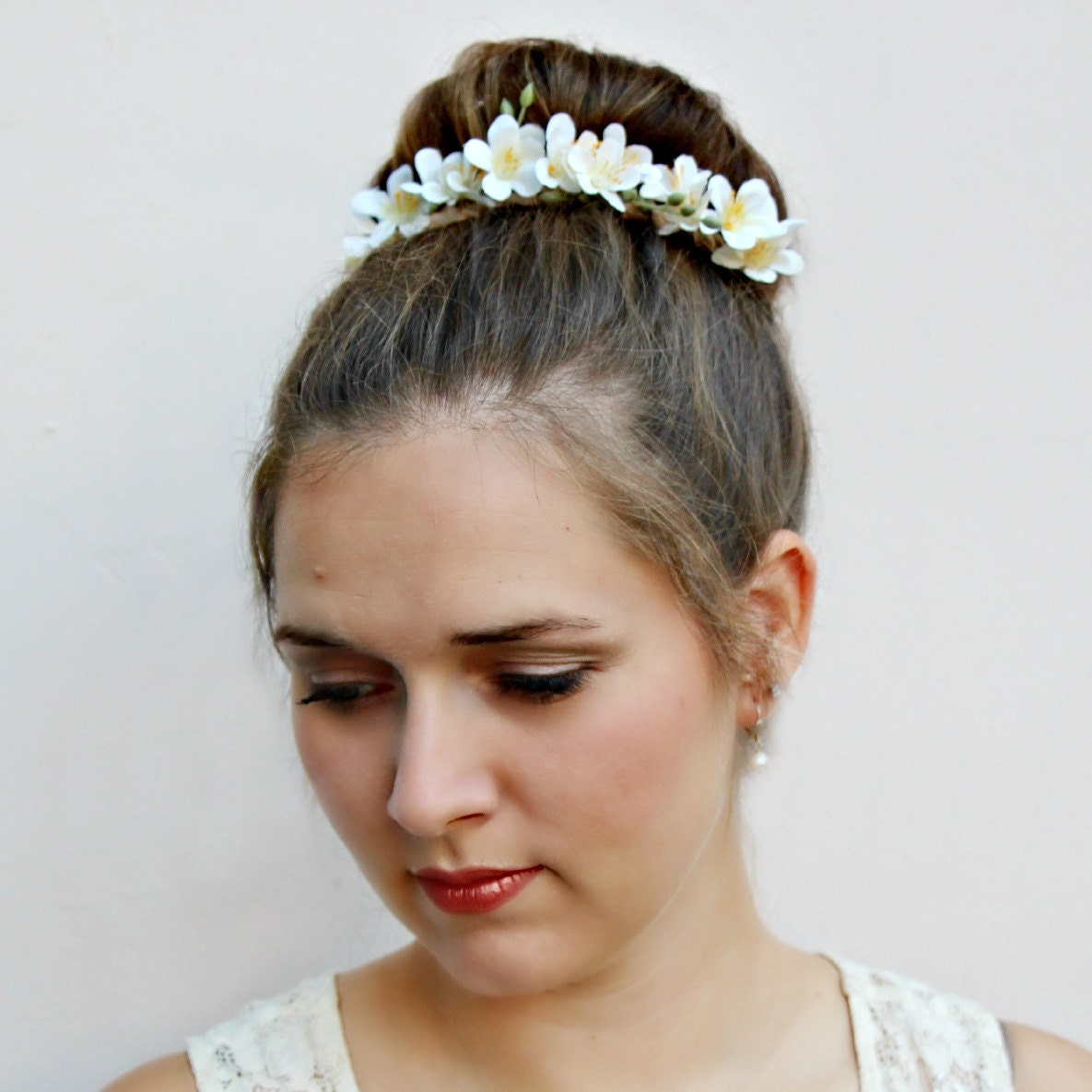 Liliana floral bun belt flower crown for your hair bun coachella liliana floral bun belt flower crown for your hair bun coachella flower crown hair bun accessories flower crown bridal hair crown izmirmasajfo
