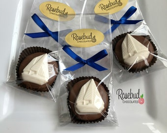 12 SAILBOAT Chocolate Oreo Cookie Party Favors Birthday Wedding Candy Ideas