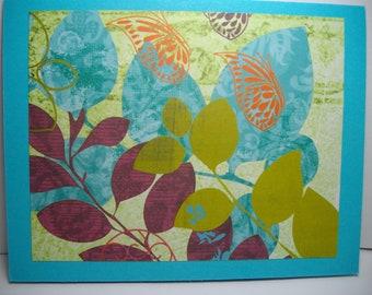 Tropical Garden-NEW! Box of 6 Handmade Cards