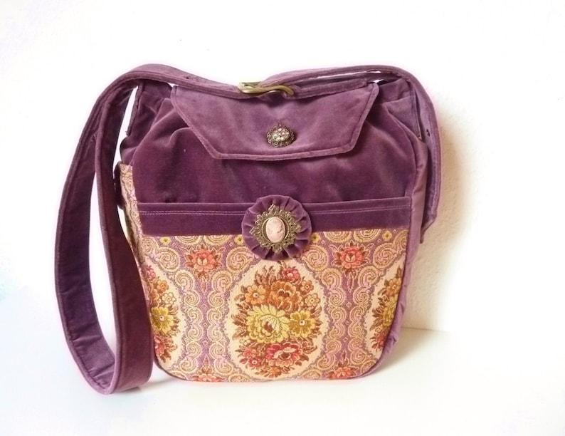8d32d1e4df3a8 Gobelin Tapestry Medieval Boho Fairy Victorian Bag Purse