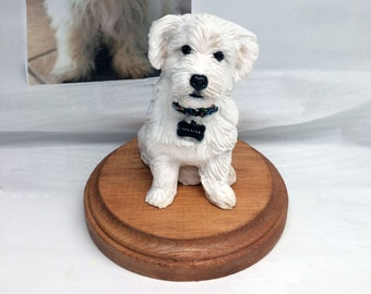 Custom Pet Dog Sculpture from Your Photos and Ideas