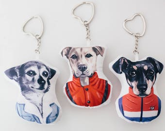 Custom Pet Portrait, Pet Christmas Gift, Personalized Pet Gifts, Pet Ornaments, Pet Lover Gifts, Dog Gifts, Cat Gifts, Pet Keychain