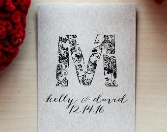 75 Customized Eco-Friendly Wedding Seed Favor Kraft Envelopes