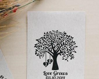100 Seed Envelopes, Wedding Favors, Favor Envelopes, Seed Packets, Wedding Gifts, Reception Favors